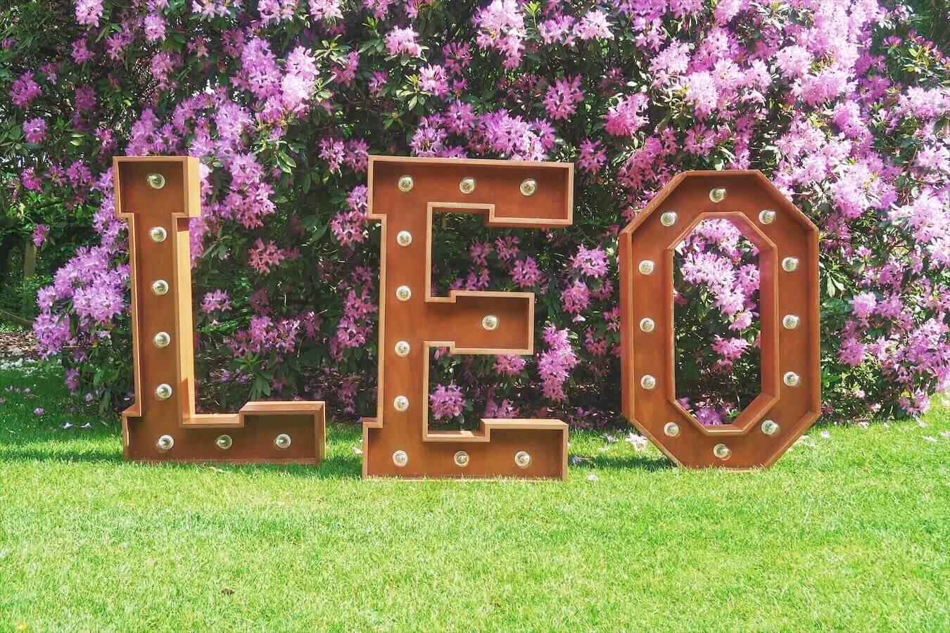 FL - Lettres lumineuses Leo