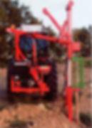 Balacerende pendulum aandrijer tractor