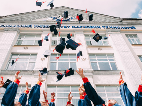 Graduation isn't the end of a tough journey. It is the beginning of a beautiful one…