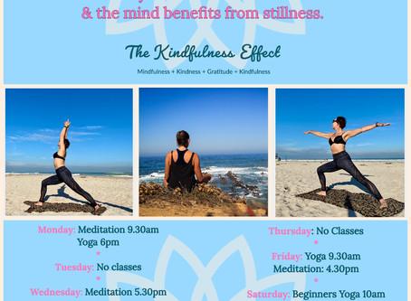 Free Kindful Yoga & Meditation Classes.