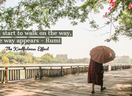 Walk on the way in 2019