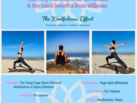 Free Kindful Yoga & Meditation Classes.