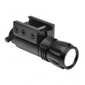 PISTOL & REFLE LED FLASHLIGHT / WEAVER MOUNT