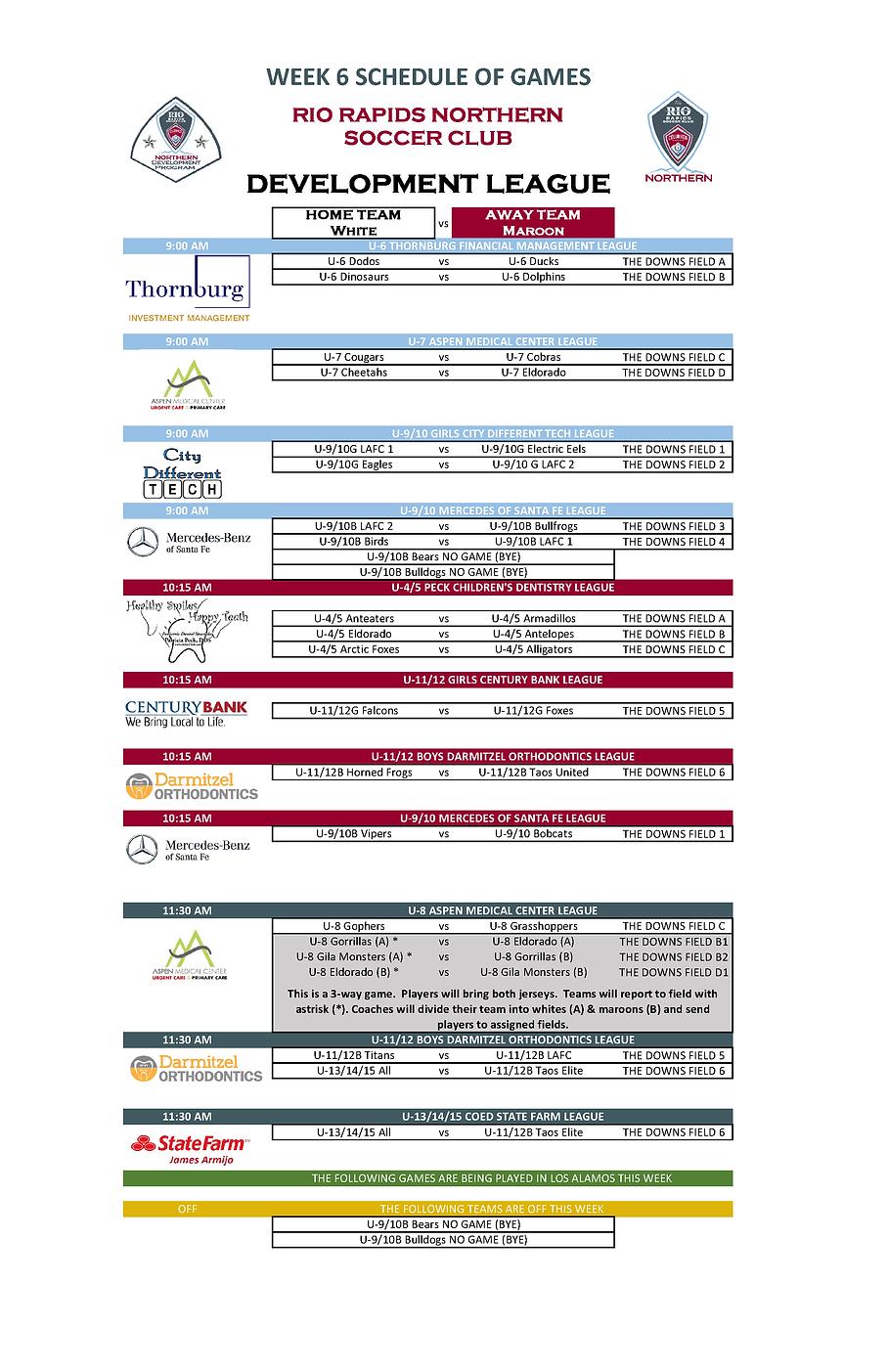 Fall 2021 Week 6 Schedule.png