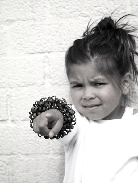 Bracelet Curl +]Sasja Saptenno Holland.J