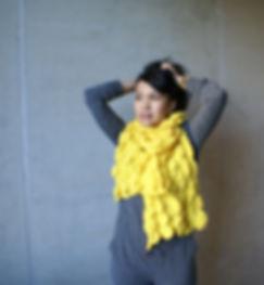 BULB sjaal | licht grijs