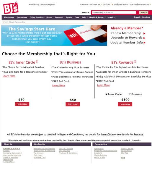 Mockup web page