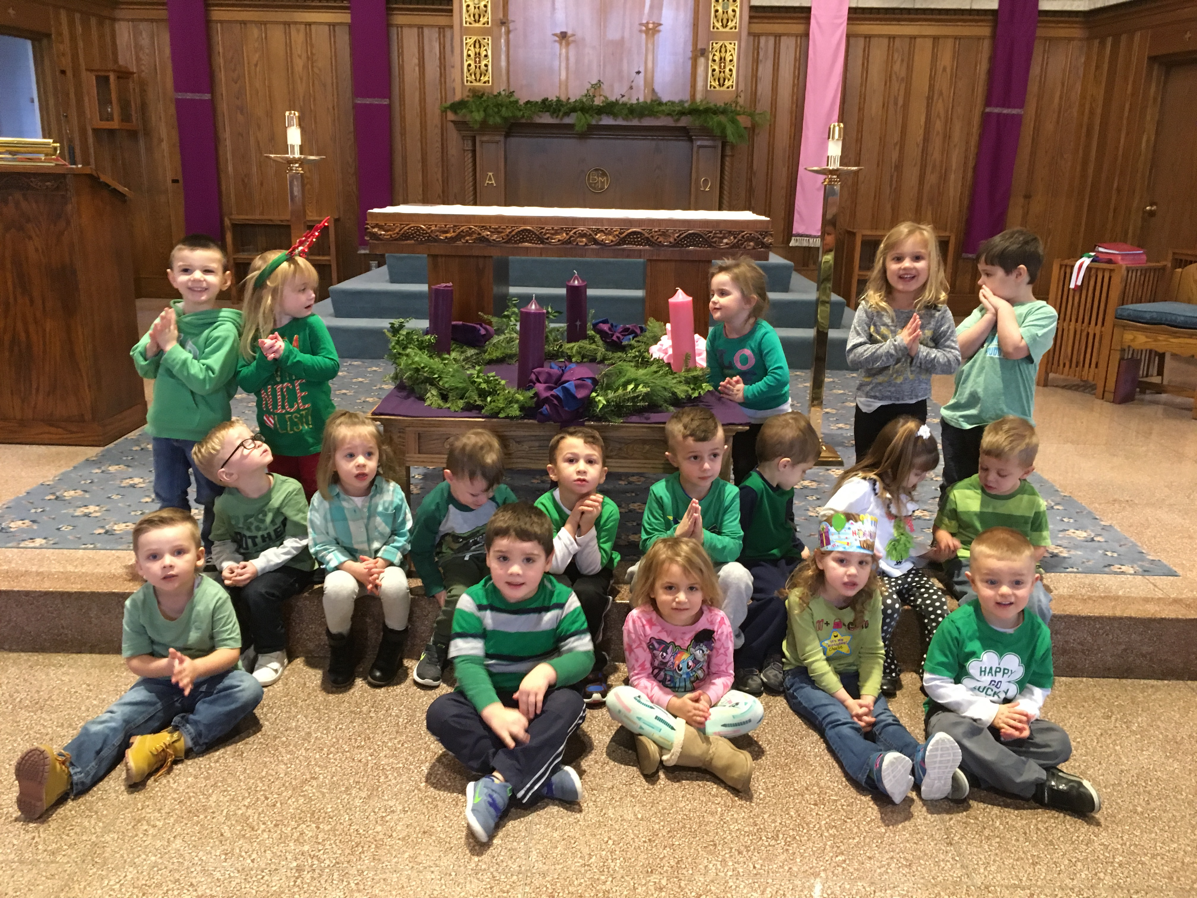 nursery school 3 yr advent 2017
