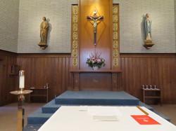 Beautiful altar Aug 31-Sept 1 2019 (1)