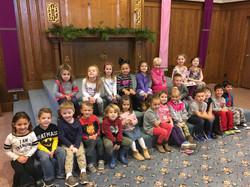 Nursery School 4 yr advent 2017 2