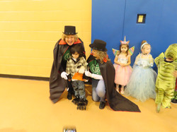 Nursery School 3s Halloween Parade Octob