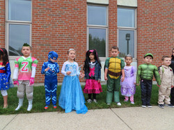 Nursery School 4s Halloween 2