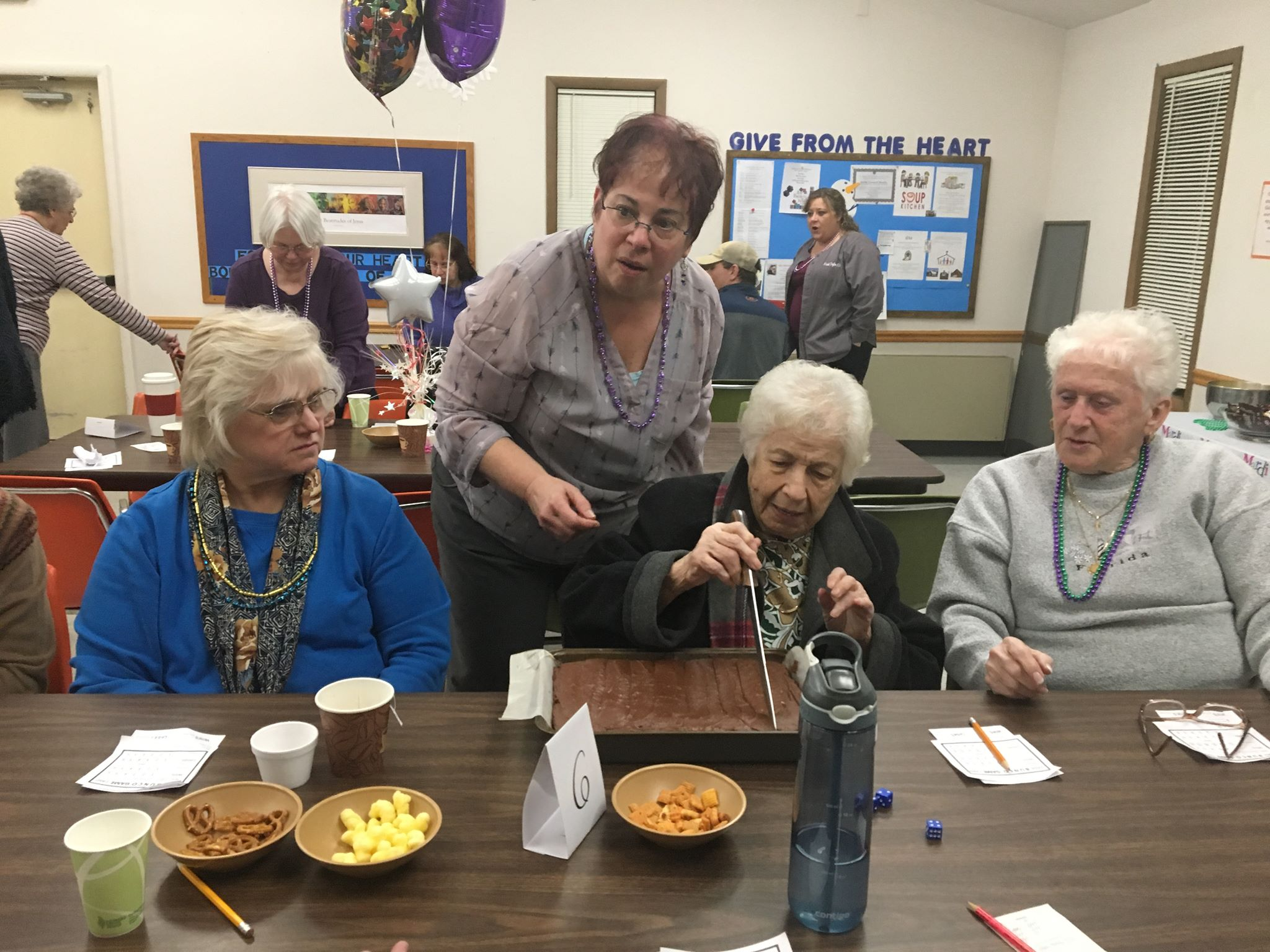 Bunco at St Margarets March 5 2019 (1)