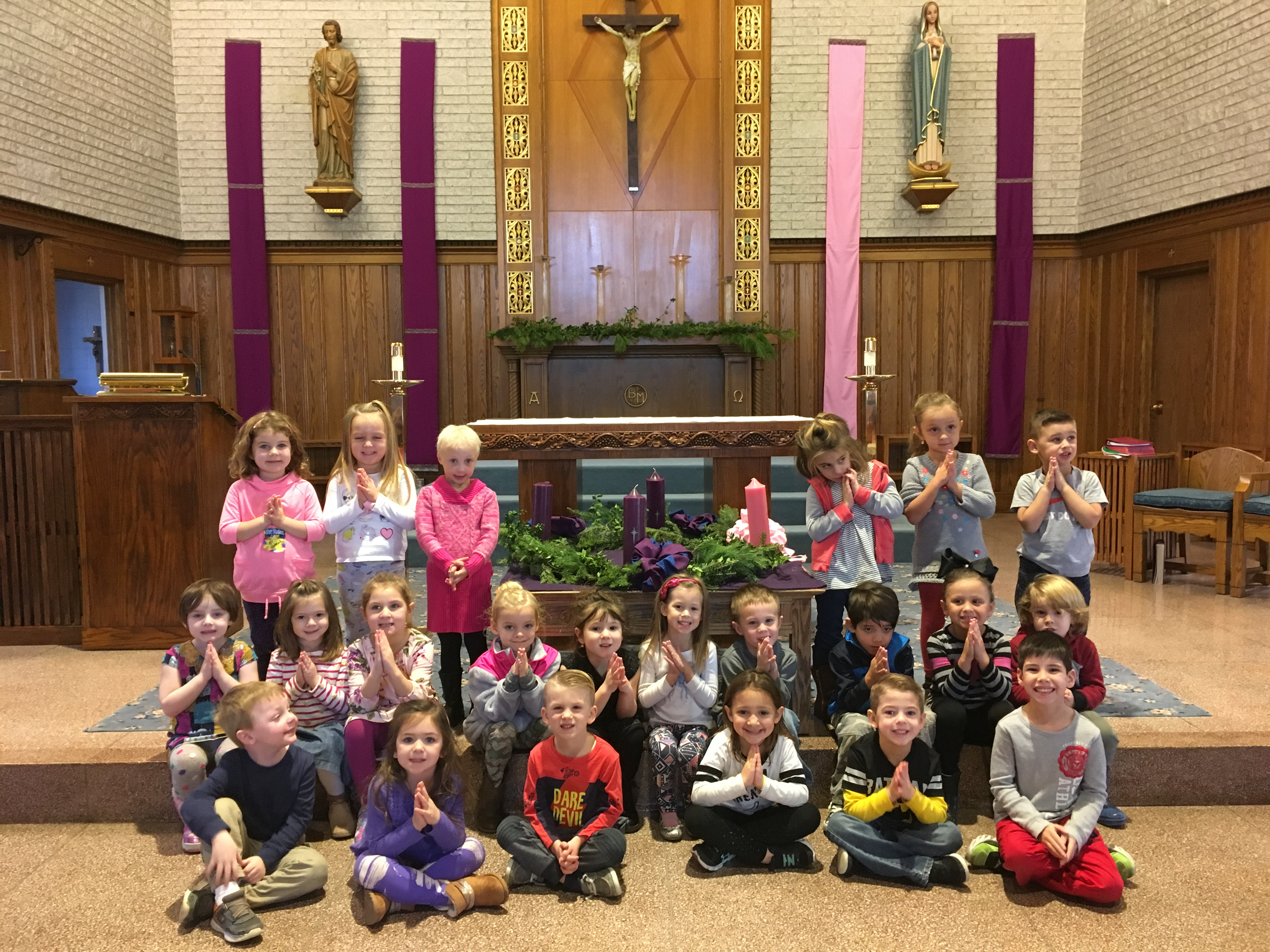 Nursery School 4 yr advent 2017 1