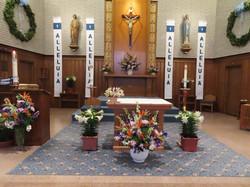 Easter Altar 2021