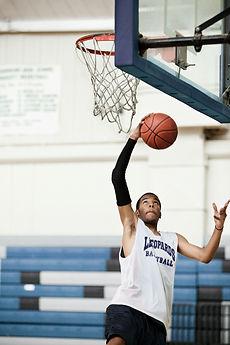 High School Basketball Game