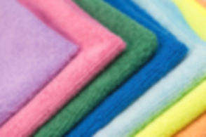 Colorful cleaning rag microfiber cloth i