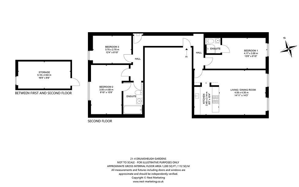 21-4 Drumsheugh Gardens, Edinburgh Floor