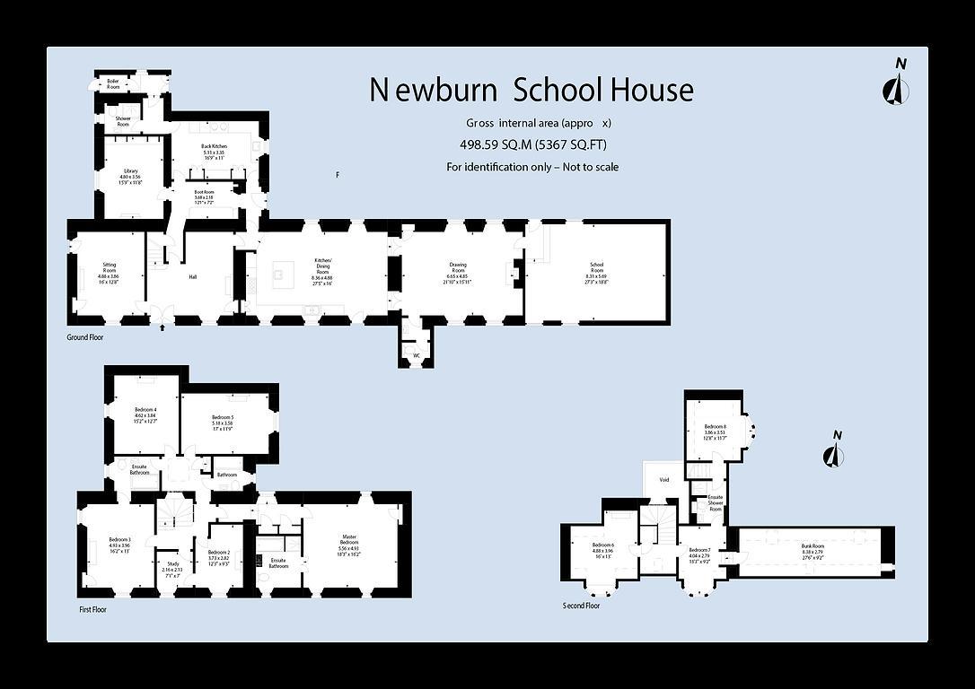 Newburn School House Floorplan