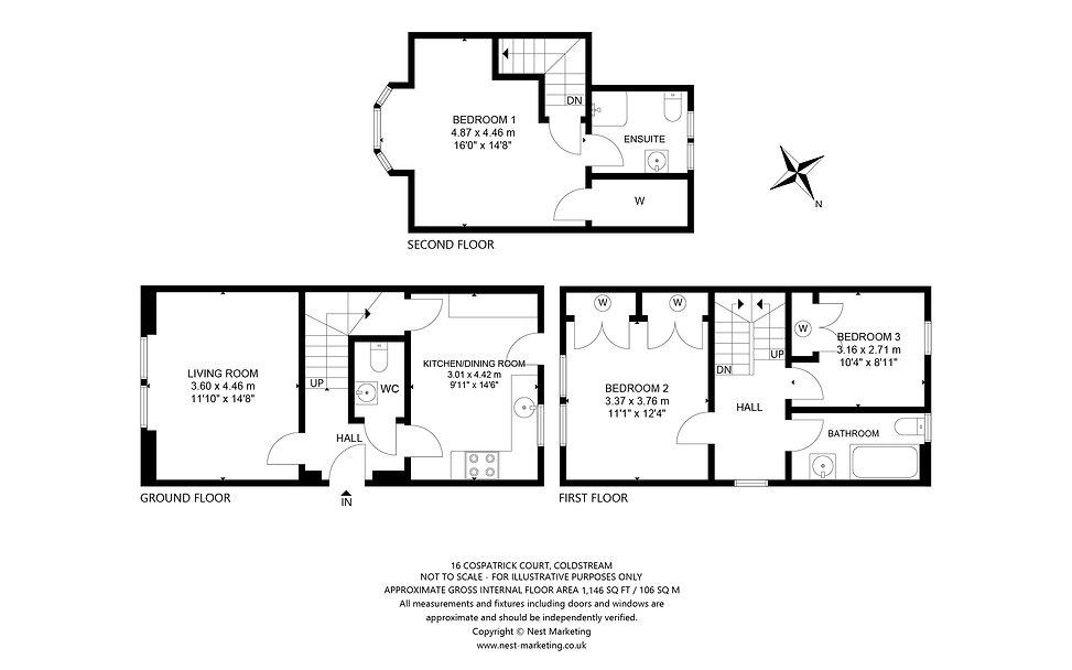 16 Cospatrick Court, Coldstream Floorpla