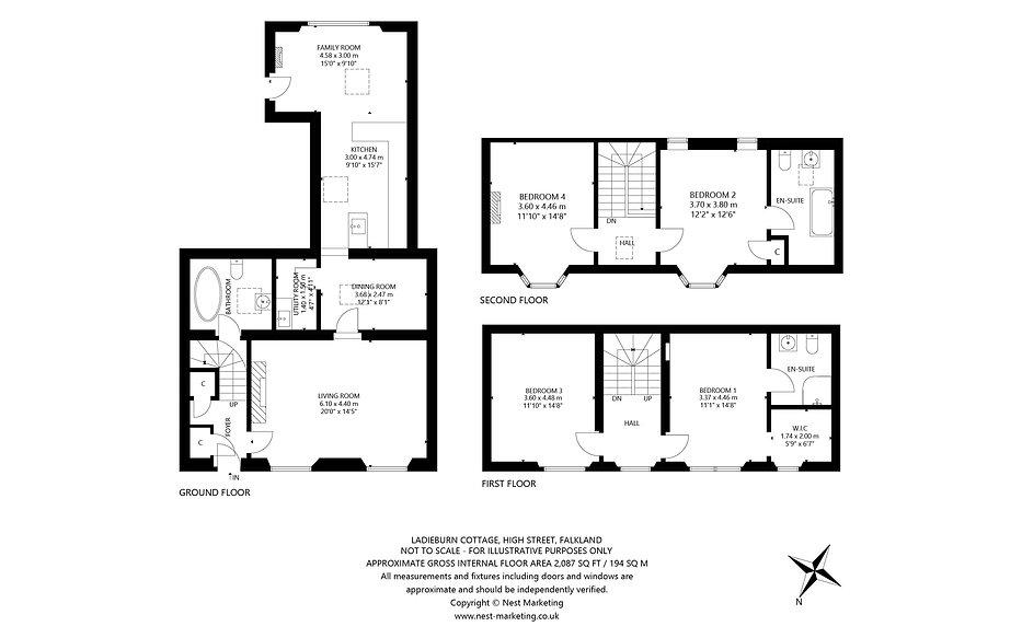 Ladieburn Cottage, High Street, Fakland - Floorplan.jpg