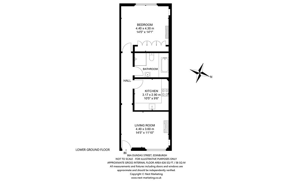86A Dundas Street, Edinburgh Floorplan.j