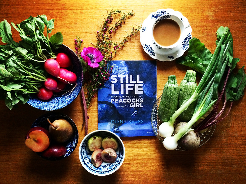 Fork and Page Review of Still Life with Two Dead Peacocks and a Girl by Diane Suess