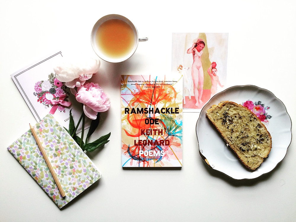 Fork and Page Book Review of Ramshackle Ode by Keith Leonard Review by Anita Olivia Koester