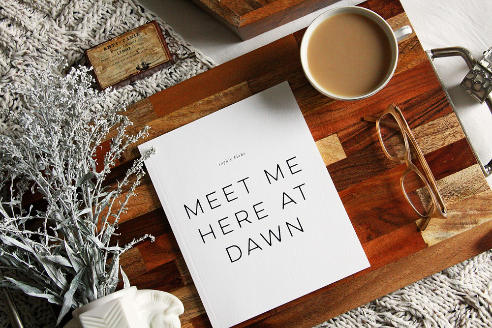 Fork and Page Blog Review of Meet Me Here At Dawn by Sophie Klahr