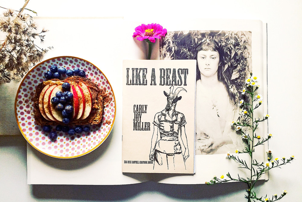 Fork and Page Chapbook Review of Like a Beast by Carly Joy Miller