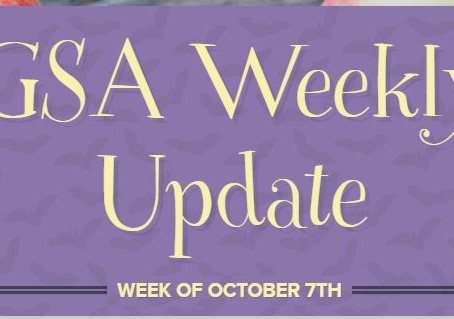 GSA Weekly Update October 7th
