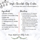 Simple Chocolate Chip Cookies - Ashley P