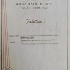 SALUTEM MARKA TESCİL BELGESİ