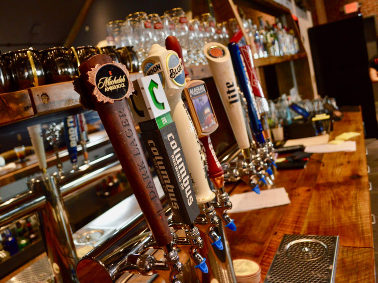 Check out all of our selections on tap!