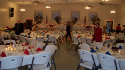 Banquet Hall & Stage