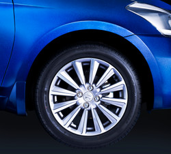 Advertising automobile photography Tyre