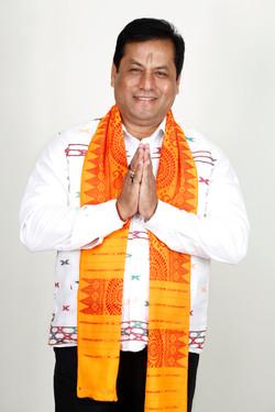 Mr. sarbananda, Assam Cheif Minister