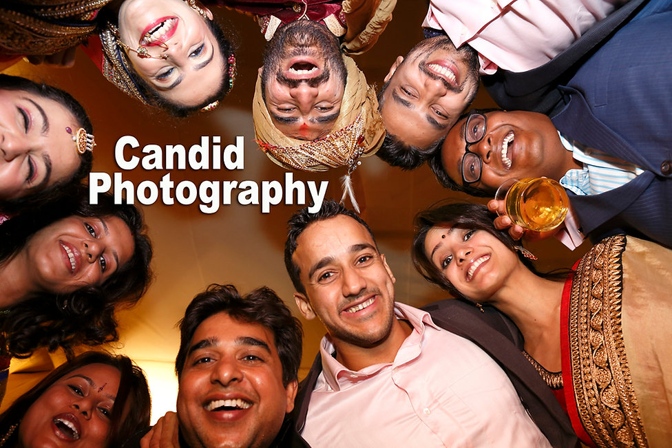 Creative candid wedding photography in a budget