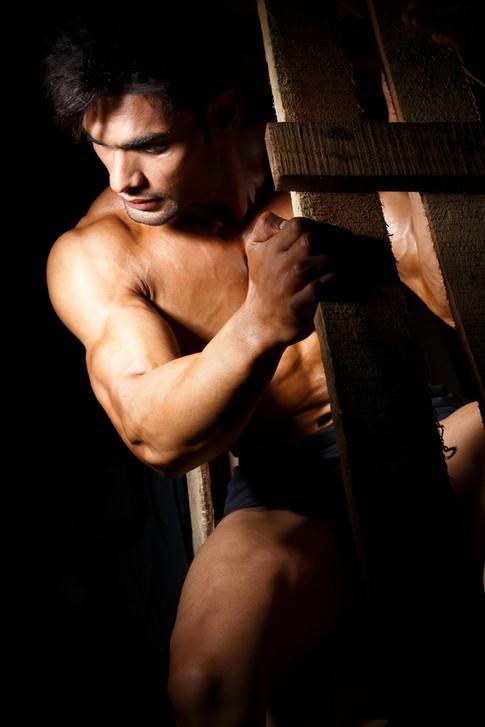 Modelling portfolios for men sandy_00953