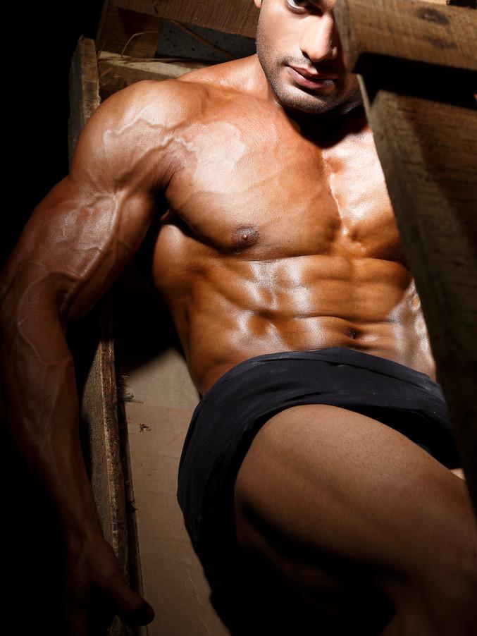 Modelling portfolios for men sandy_00926