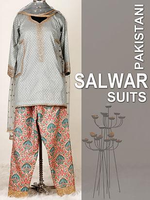 Pakistani salwar suits - so sassy net.jp