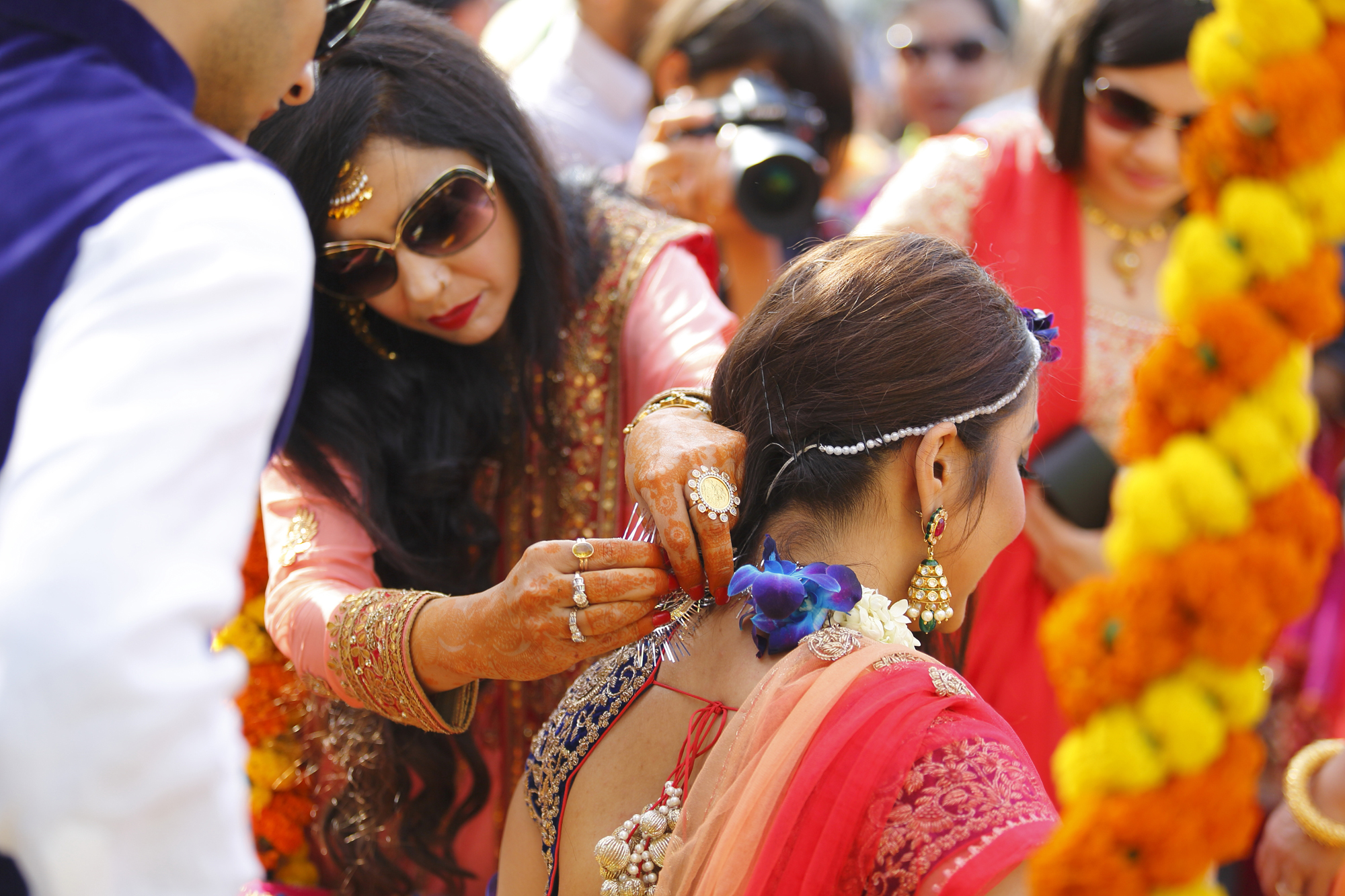 candid wedding photographers Delhi