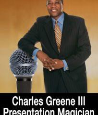 Magician Charles Greene III