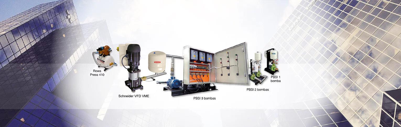 Pressurizadores - Inversor de Frequencia