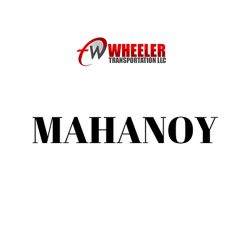 MAHANOY