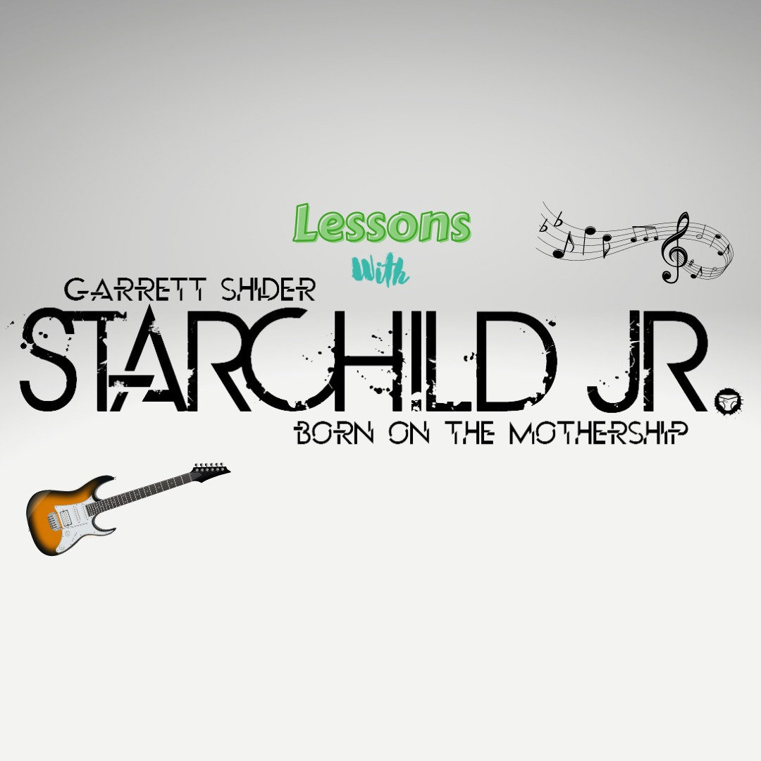 Guitar or Vocal Lessons with Starchildjr
