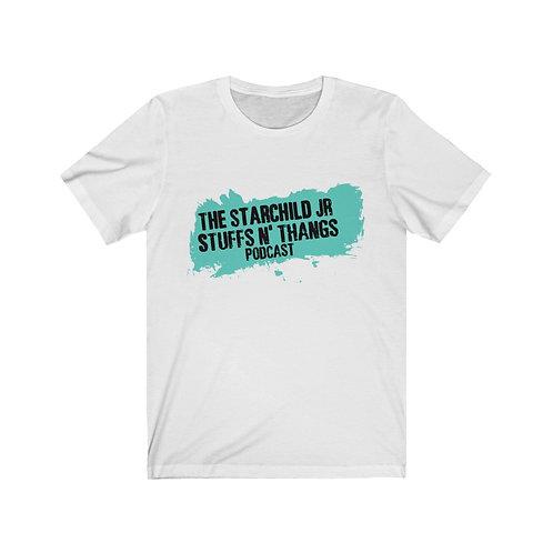 Stuffs n Thangs Podcast Unisex Jersey Short Sleeve Tee