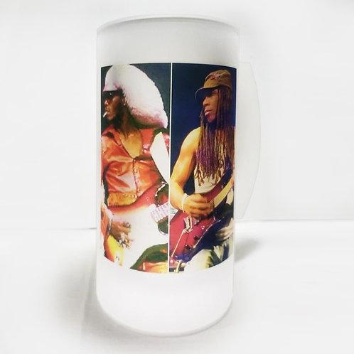 "Garry Shider Starchild & Garrett Shider Starchildjr Funkadelic Frosted Mug 3x6"""