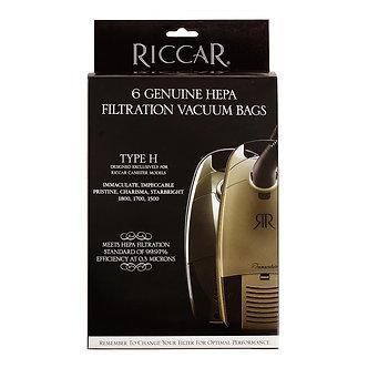 Riccar Canister HEPA Media Bags