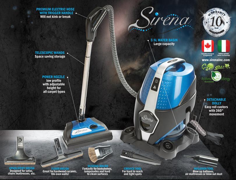 Sirena Vacuum